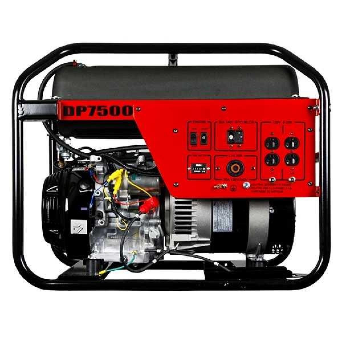 Winco Dp7500 Dyna Professional Series Honda Portable Gas