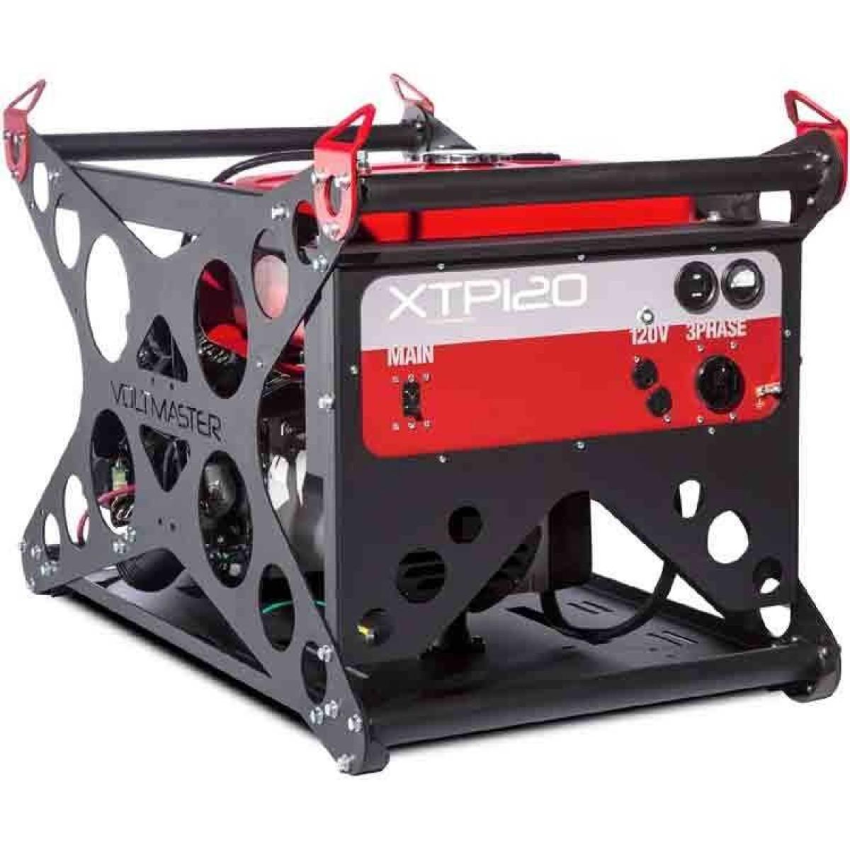 3 Phase Generator >> Voltmaster Xtp120eh208 Honda 12000 Watt Three Phase Generator