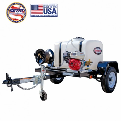 Simpson Cold Water Cleaning Trailer Sys 1A-95000