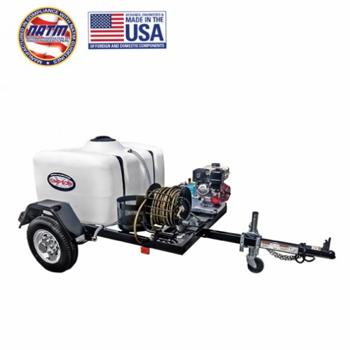 Simpson Cold Water Cleaning Trailer Sys 1B-95001