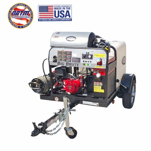 Simpson Cold Water Cleaning Trailer Sys Low-Prez 75' Hose Reel 1B-95005