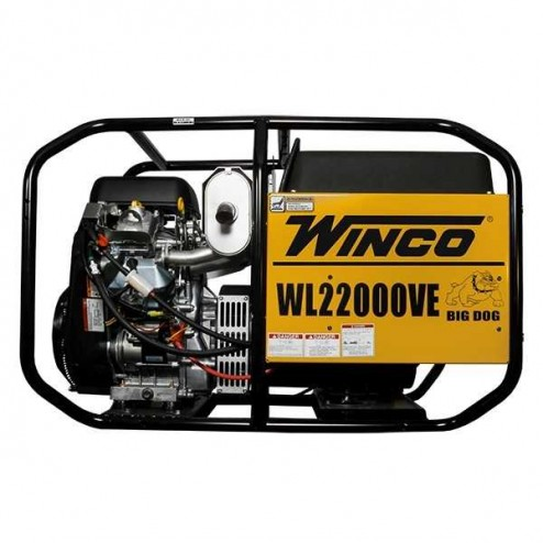 Winco WL22000VE/A Portable Gas Generator