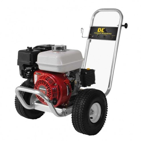 BE Pressure PE-2565HWACOMSP GX200 2500PSI 3GPM Gas Pressure Washer