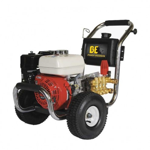 BE Pressure PE-2565HWSCOM GX200 2500PSI 3GPM Gas Pressure Washer
