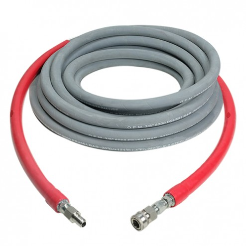 Simpson 41184 3/8 in x 50 ft x 8000 PSI Hot Water Hose