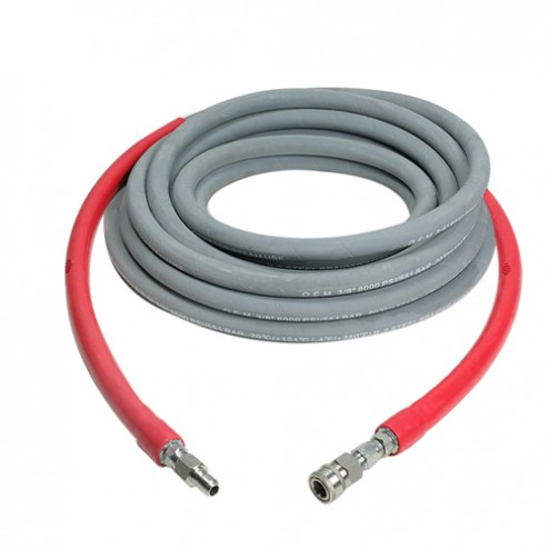 Simpson 1187 3/8 in x 50 ft x 10,000 PSI Hot Water Hose