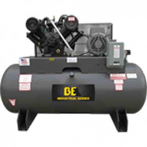 BE Pressure 120 Gal Electric 2-Stage Belt Drive AC10120B3 Air Compressor