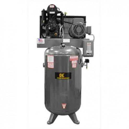 BE Pressure 80 Gal Electric 2-Stage Belt Drive Air Compressor AC1080B3