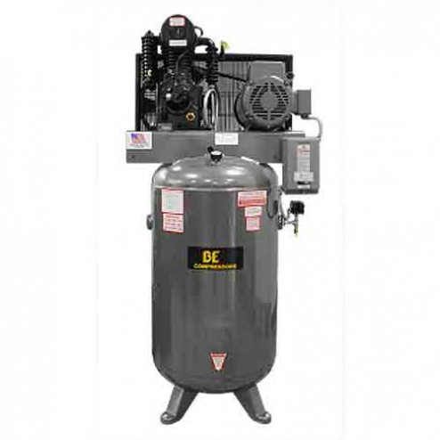 BE Pressure 80 Gal Electric Two Stage Belt Drive AC1080B