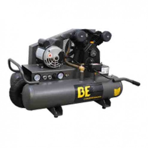 BE Pressure 8 Gal Electric Single Stage Belt Drive AC1511B