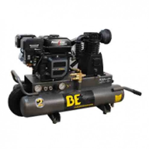BE Pressure 8 Gal Gas 1-Stage Belt Drive AC708RB Air Compressor
