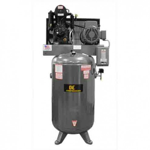 BE Pressure 80 Gal Electric 2-Stage Belt Drive AC7580B Air Compressor