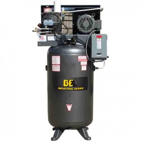 BE Pressure 80 Gal Electric 3-Phase Rotary Screw Air Compressor AC7580S3