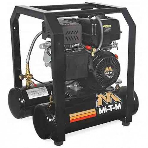 Mi-T-M 5.0 Gal Gasoline Single Stage Air Compressor Mi-T-M AM1-HM04-05M