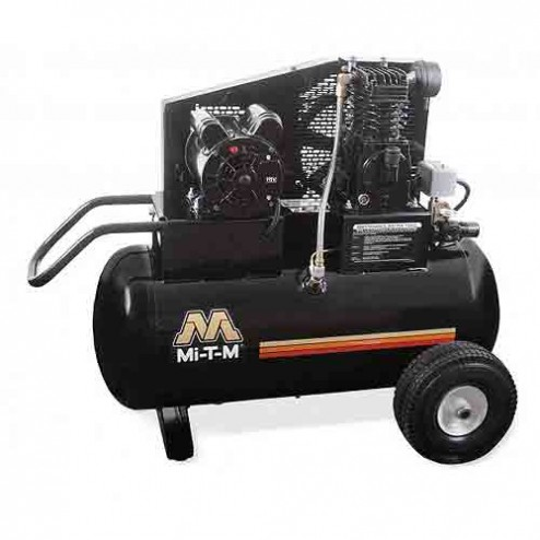 Mi-T-M 20.0 Gal Electric Single Stage Air Compressor AM1-PE15-20M