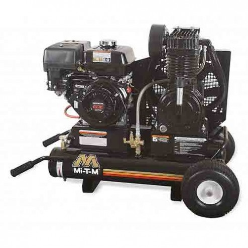 Mi-T-M 8.0 Gal Gasoline Two-Stage Air Compressor Kohler AM2-PK95-08M