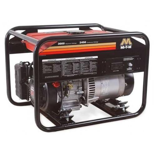 Mi-T-M 3000 Watt Gasoline Portable Generator Honda GEN-3000-1MH0