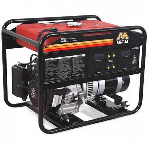 Mi-T-M 5000 Watt Kohler Gasoline Portable Generator GEN-5000-0MK0