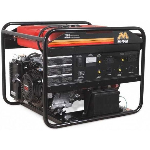 Mi-T-M 7500 Watt Gasoline Portable Generator Honda GEN-7500-0MHE