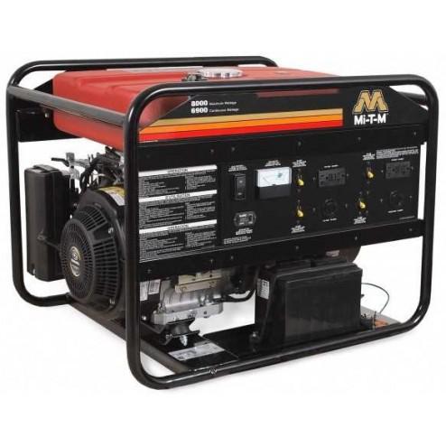 Mi-T-M 8000 Watt Gasoline Kohler Portable Generator GEN-8000-0MKE