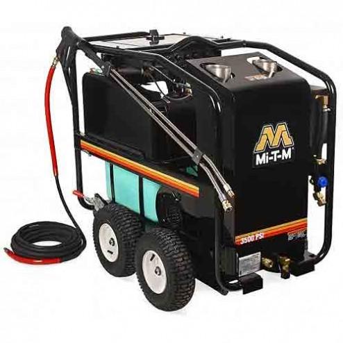 Mi-T-M 3500 PSI Electric Belt Drive Hot Water HSE-3504-0M10