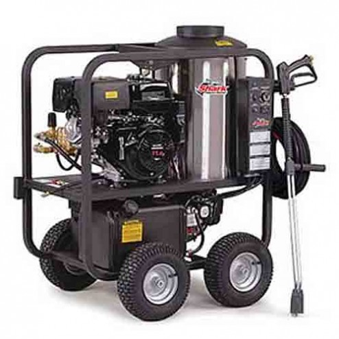 Shark SGP-353037E 3 000 PSI 3.5 GPM Honda Gas Powered Hot Water Commercial Series Pressure Washer