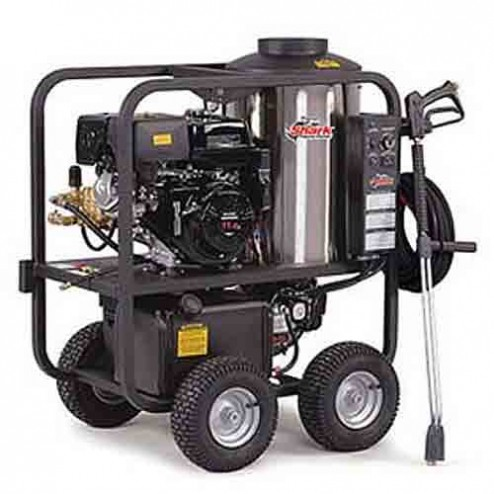 Shark SGP-353037 3 000 PSI 3.5 GPM Honda Gas Powered Hot Water Commercial Series Pressure Washer