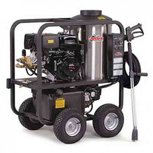 Shark SGP-403537E 3 500 PSI 3.5 GPM Honda Gas Powered Hot Water Commercial Series Pressure Washer