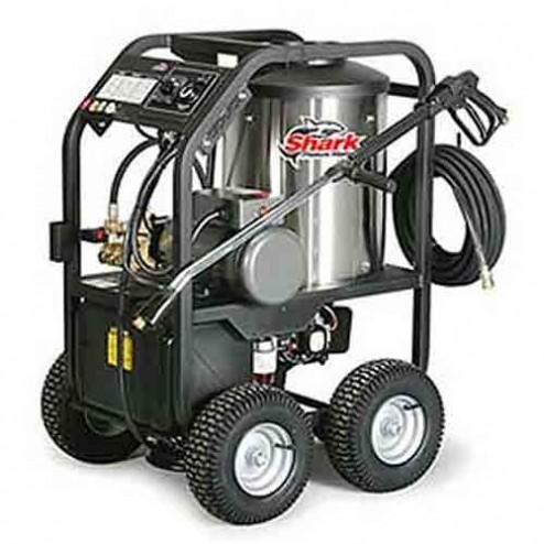 Shark STP-231007D 1 000 PSI 2.1 GPM 120 Volt Electric Hot Water Commercial Series Pressure Washer