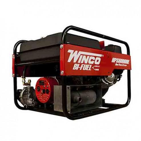 Winco HPS6000HE Bi-Fuel Portable Generator