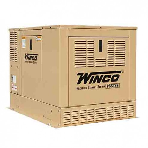 Winco PSS12H2W Packaged Home Standby Generator 12KW