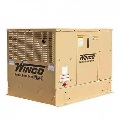 Winco PSS8B4W Packaged Home Standby Generator 8KW