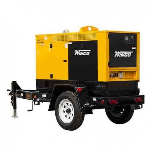 Winco RP25 Mobile Diesel Generator
