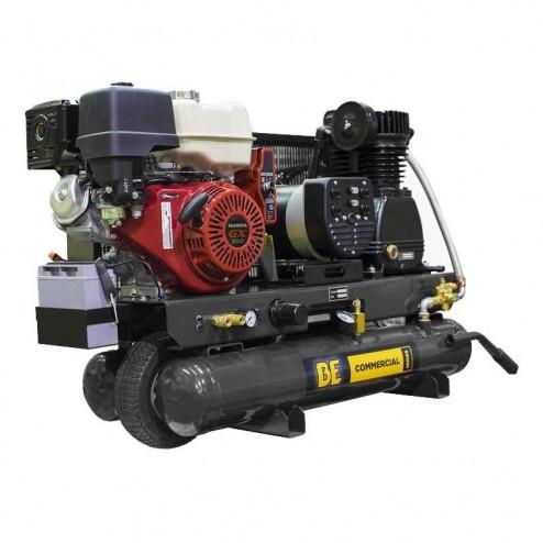 BE Pressure 8 Gal Stationary Gas Compressor/Generator AC138HEG2S