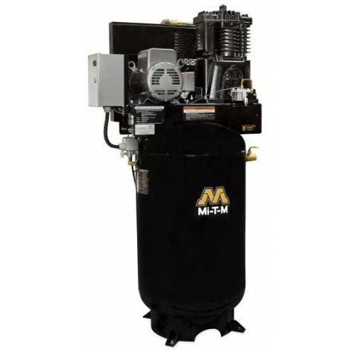 Mi-T-M 80 Gallons Two stage Electric Air Compressor ACS-23105-80VM