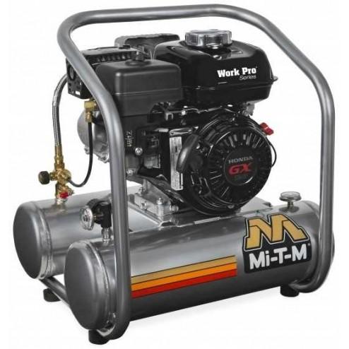 Mi-T-M 5-gallon Single Stage Mi-T-M Gas Air Compressor AM1-HM04-05WP