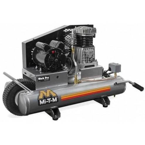 Mi-T-M 8-gallon Single stage Electric Air Compressor AM1-PE15-08WP