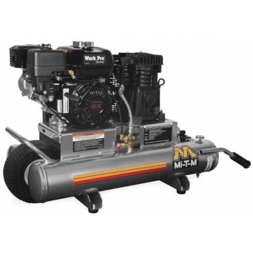 Mi-T-M 8-gallon Single stage Honda Gas Air Compressor AM1-PH06-08WP