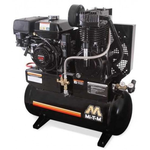 Mi-T-M 20.0 Gal Gasoline Two-Stage Air Compressor Honda AM2-SH09-20M
