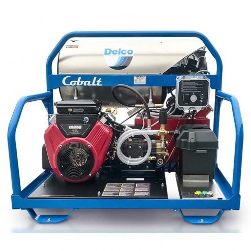 Delco Cobalt 65003 3500 PSI KOHLER CH620 Gas Engine/Diesel Burner Hot Pressure washer