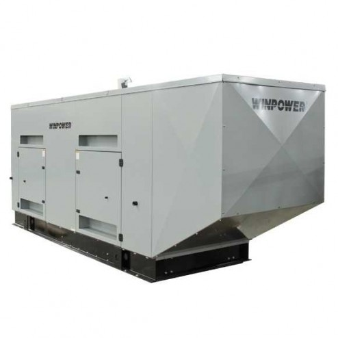 Winco DR250F4 250kW Diesel Standby Generator/ Enclosed