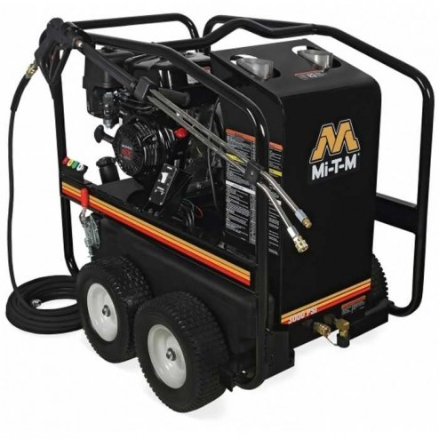 Mi-T-M 3000 PSI Gasoline Direct Drive Hot/Cold Pressure Washer HSP-3003-3MGH