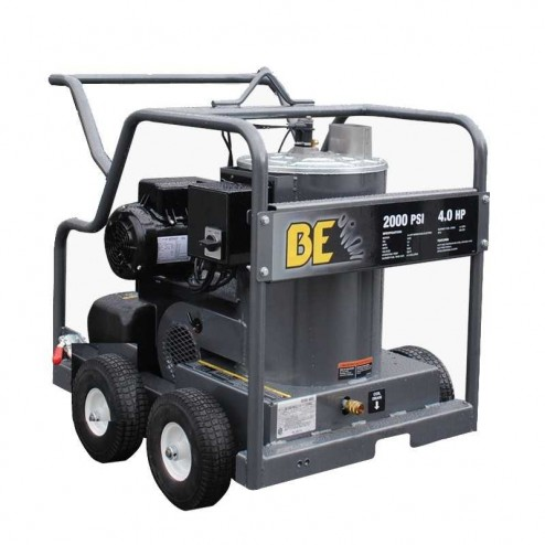 BE Pressure 2000 PSI Electric Hot Pressure Washer HW204EMD