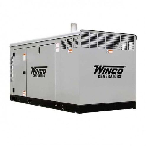 Winco PSS30 30kW Gaseous Standby Generator/Enclosed
