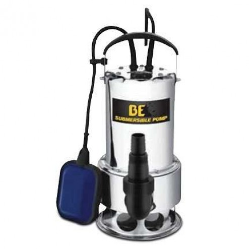 "BE Pressure ST-900SD 1.5"" Side Dischrg Trash Submersible-Pump W/ Float"