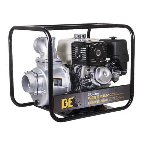 "BE Pressure WP-4013HR Gas 4"" Water Transfer Pump"