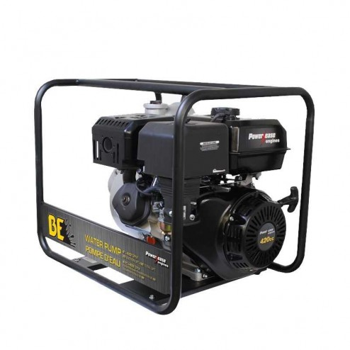 "BE Pressure WP-4015R Gas 4"" Water Transfer Pump"