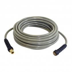 "Simpson 25 ft Morflex Hose 1/4"" with Adaptor 40224"