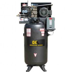 BE Pressure 80 Gal Electric 3-Phase Rotary Screw Air Compressor AC7580S3