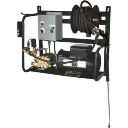 BE Pressure 2000 PSI Electric Baldor Wall Mount Pressure Washer X-2050FW1COM